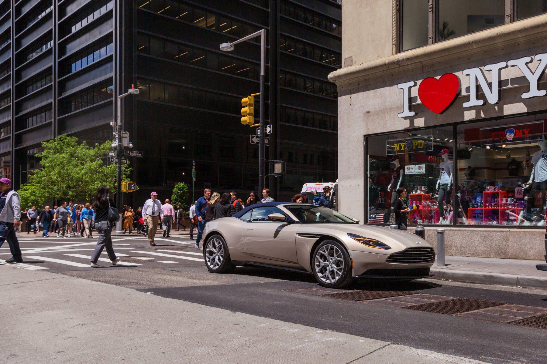 We drove an ultra stylish $273 244 Aston Martin DB11 Volante