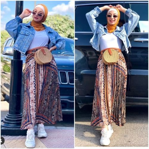 Photo of Sweet hijab outfits for summer vacation