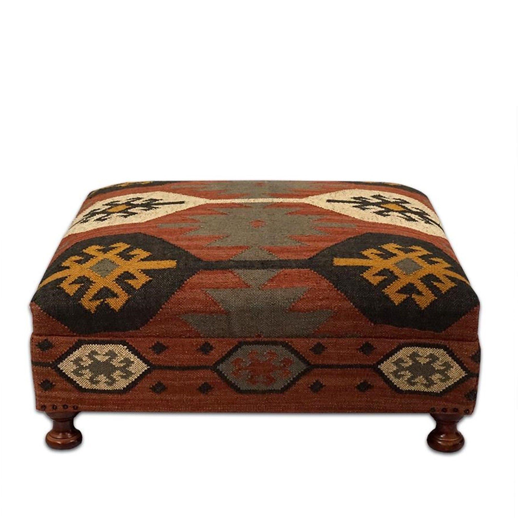 british ottoman square table ottoman