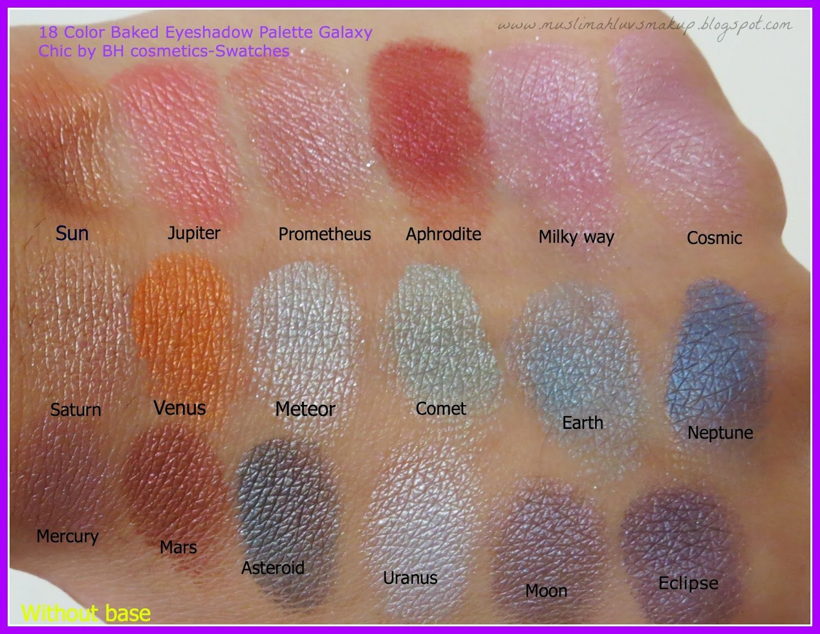 Galaxy Chic Baked Eyeshadow Palette by BH Cosmetics #11