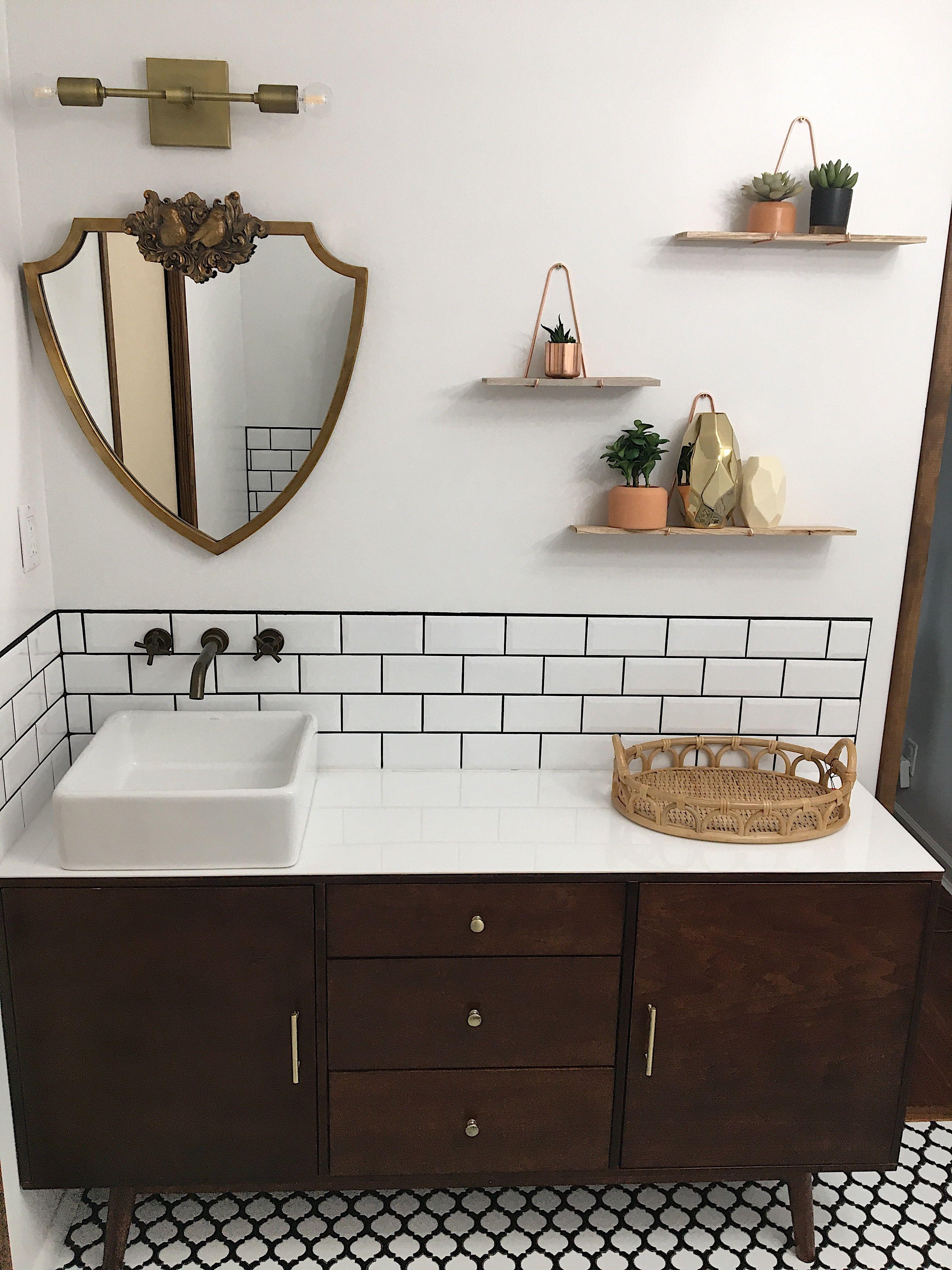 Bathroom Renovations Master Bathroom Mid Century Master Bath Me val Bathroom