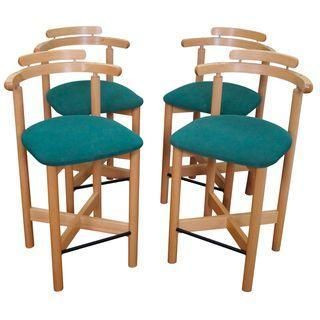 Lovely Wooden Bar Stool and Table Set