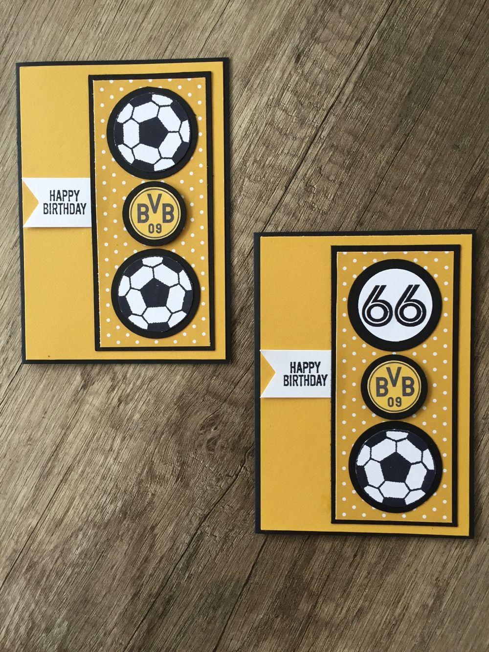 Fußballkarte Geburtstag Borussia Dortmund Tennis
