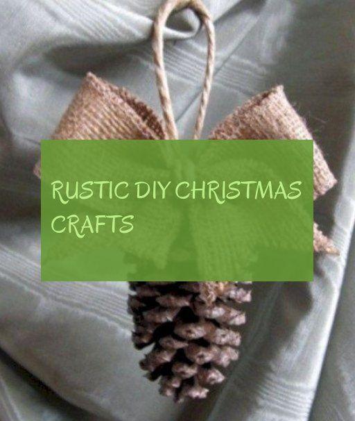 rustic diy christmas crafts