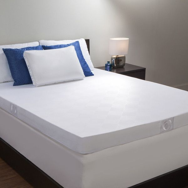 Refresh your mattress with both fort and support sleep in luxury with this hybrid memory spring topper This hybrid topper has a motion isolation design