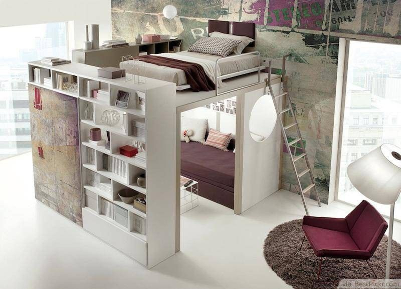 10 Small Bedroom Interior Design Ideas With Most Creative Use Of Space Space Saving Ideas For Home House Rooms Room Decor