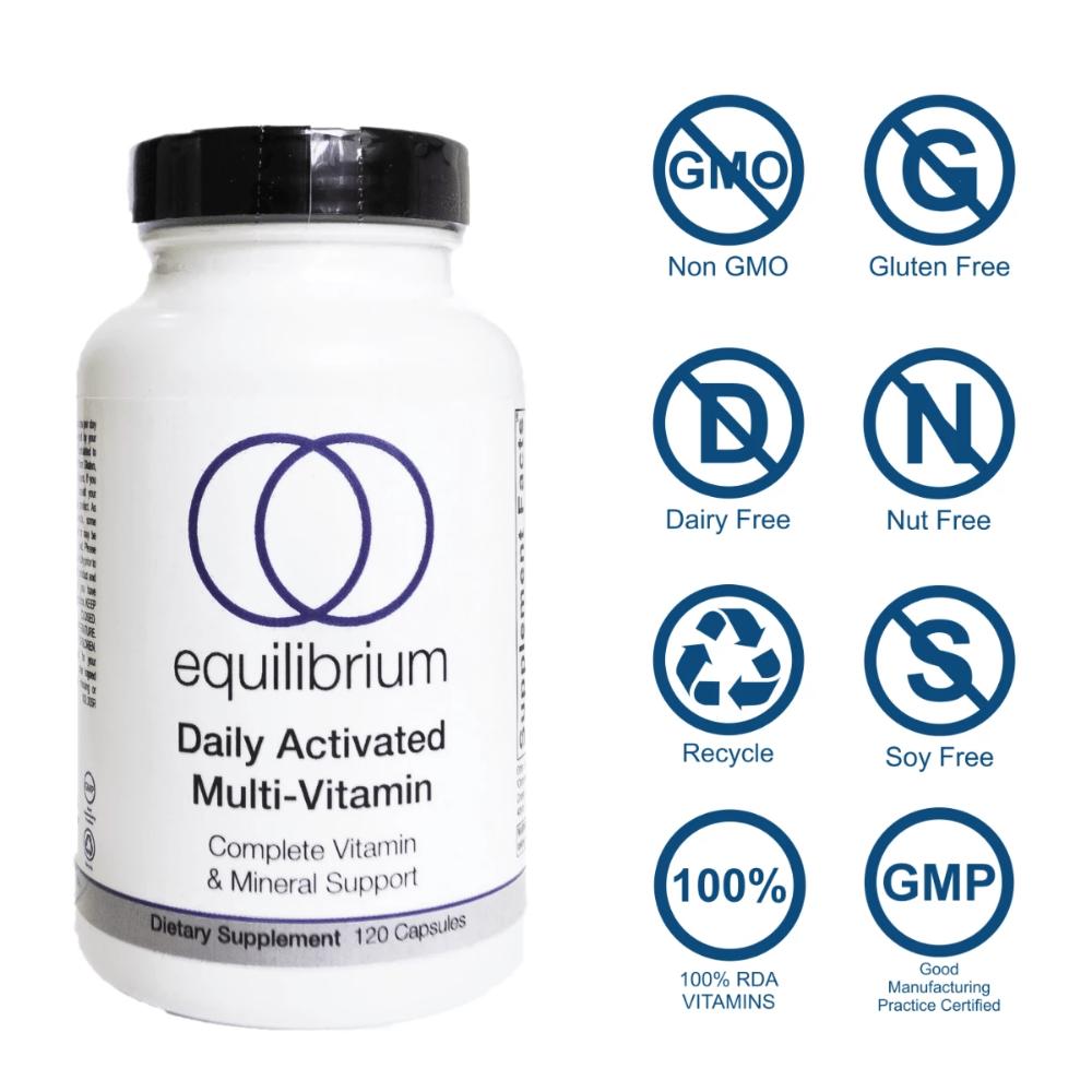 Daily Activated Multi Vitamin Multivitamin Vitamins Vitamins And Minerals