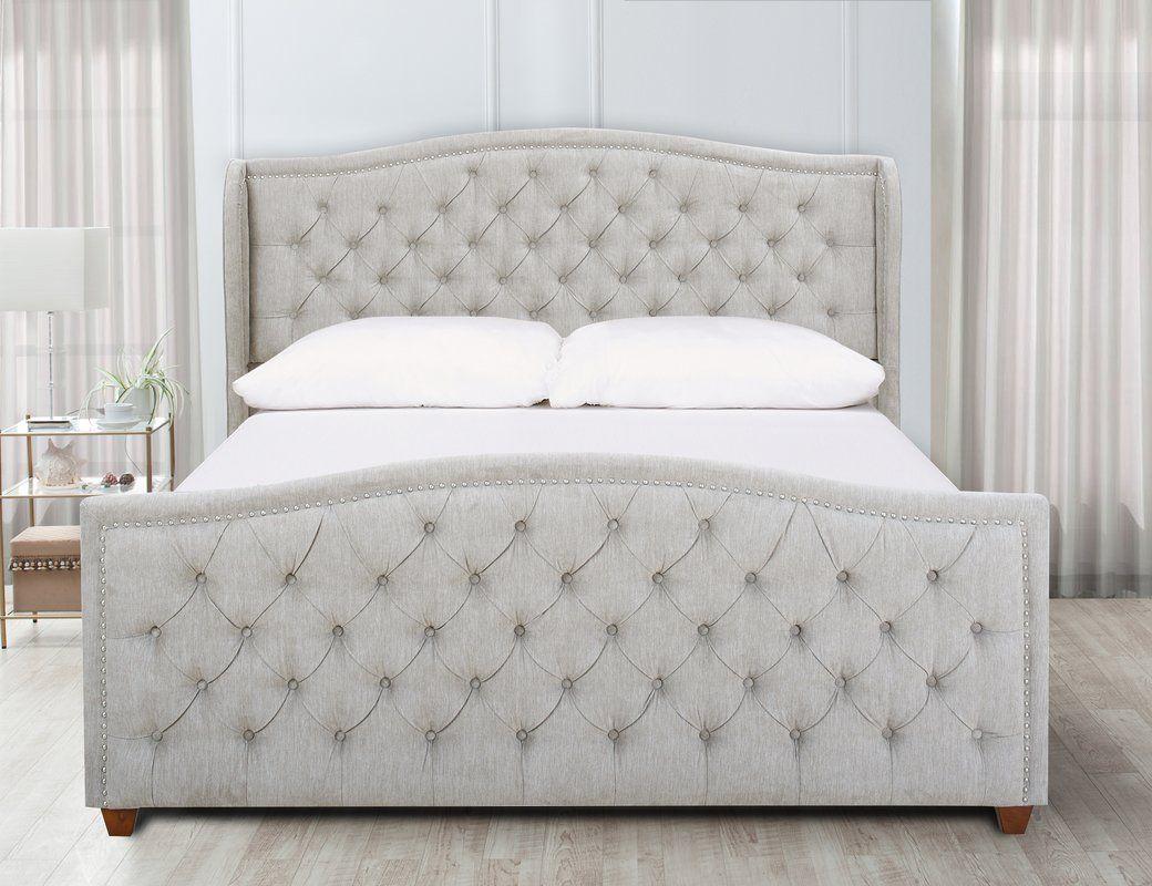 whitman king upholstered panel bed jordan m bedroom pinterest