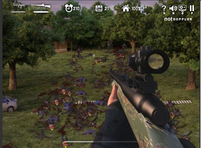 العاب ماهر فلاش Sniper Games Dead Online Games