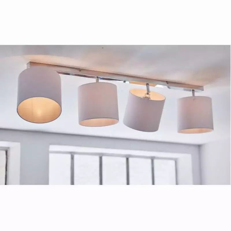 New Design Modern White Shade Lustre Lumiere Ceiling Lights For