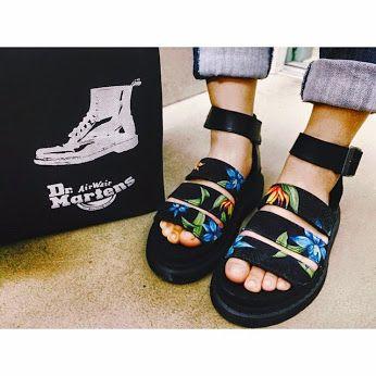 Dr. Martens Hawaiian Clarissa Sandals