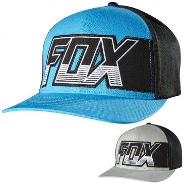 de43a8922684f Fox Racing Mens Clutch Flexfit Casual Fitted Cap MX Motocross Moto ...