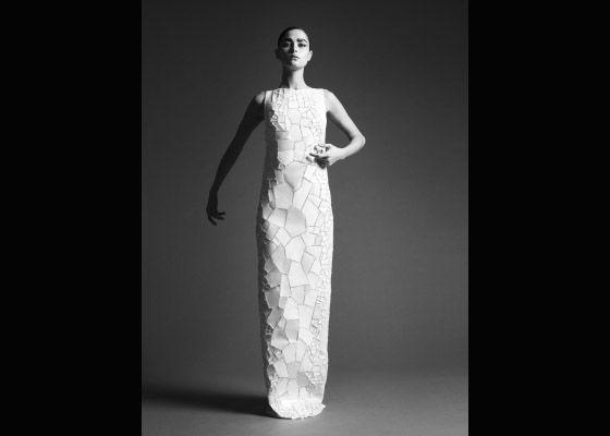 'shatter' dress - photograph by Ben Hassett