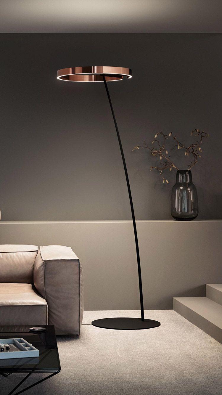 Occhio   Mito raggio LED Stehleuchte Design   Stehlampe wohnzimmer, Stehlampen wohnzimmer ...