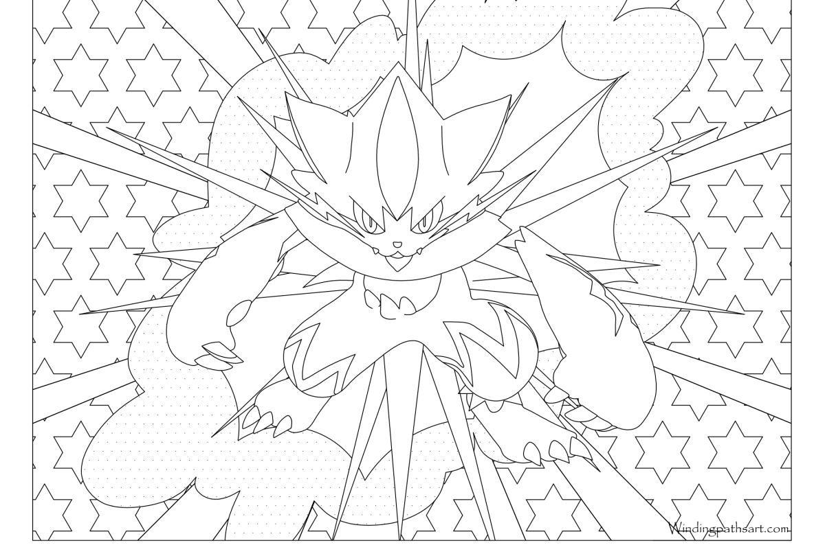 Pokemon Coloring Page Archives Windingpathsart Com Pokemon Coloring Pages Pokemon Coloring Abstract Coloring Pages