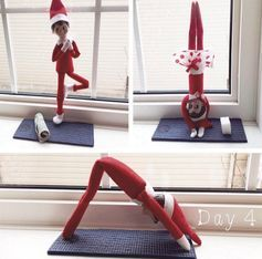 24 Elf On The Shelf Ideas That You Haven't Seen Before #elfontheshelfideas