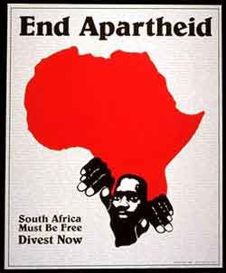 17x22Political Decoration Poster .Solidarity with Africa.Anti-Apartheid.Free Zimbabwe.9255