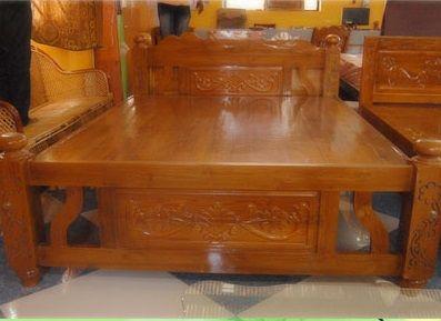 Designer Teak Wood Cots Beds Manufacturer And Supplier In