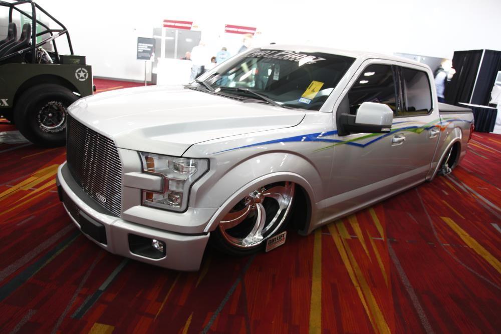 2016 Ford F150 Lifted >> K&N-Sponsored Phat Phabz Takes On The Aluminum Body of a Ford F-150   Ford trucks, Custom trucks ...