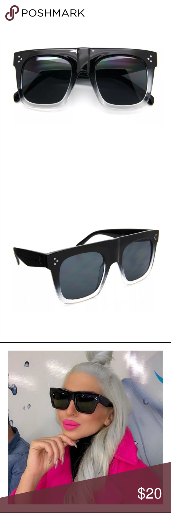 dc6a91fd6d5 Looks like the Celine ZZ-top sunnies but they are a more affordable  version.NO TRADESFAST SHIPPER Celine Accessories Sunglasses