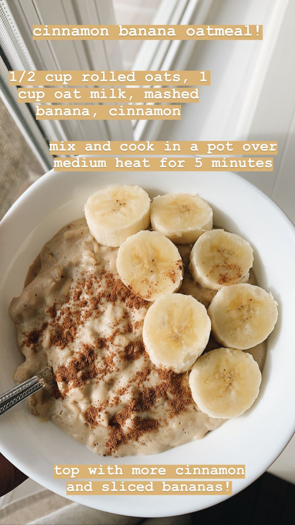 cinnamon banana oatmeal gluten and dairy free vegan vegetarian recipes easy an  cinnamon banana oatmeal gluten and dairy free vegan vegetarian recipes easy and quick scho...