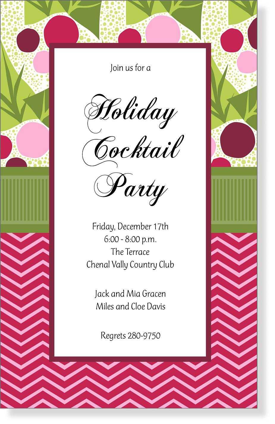 Christmas Open House Invite 1950s | Open house, Open house parties ...