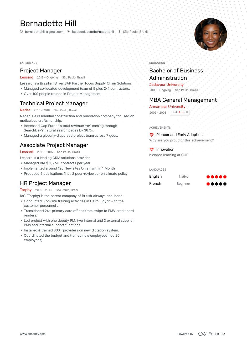 The ultimate 2019 guide for Project Manager resume