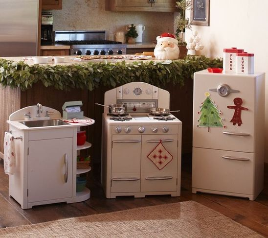 Pottery Barn Kids retro kitchen | For the Littles | Kids ...