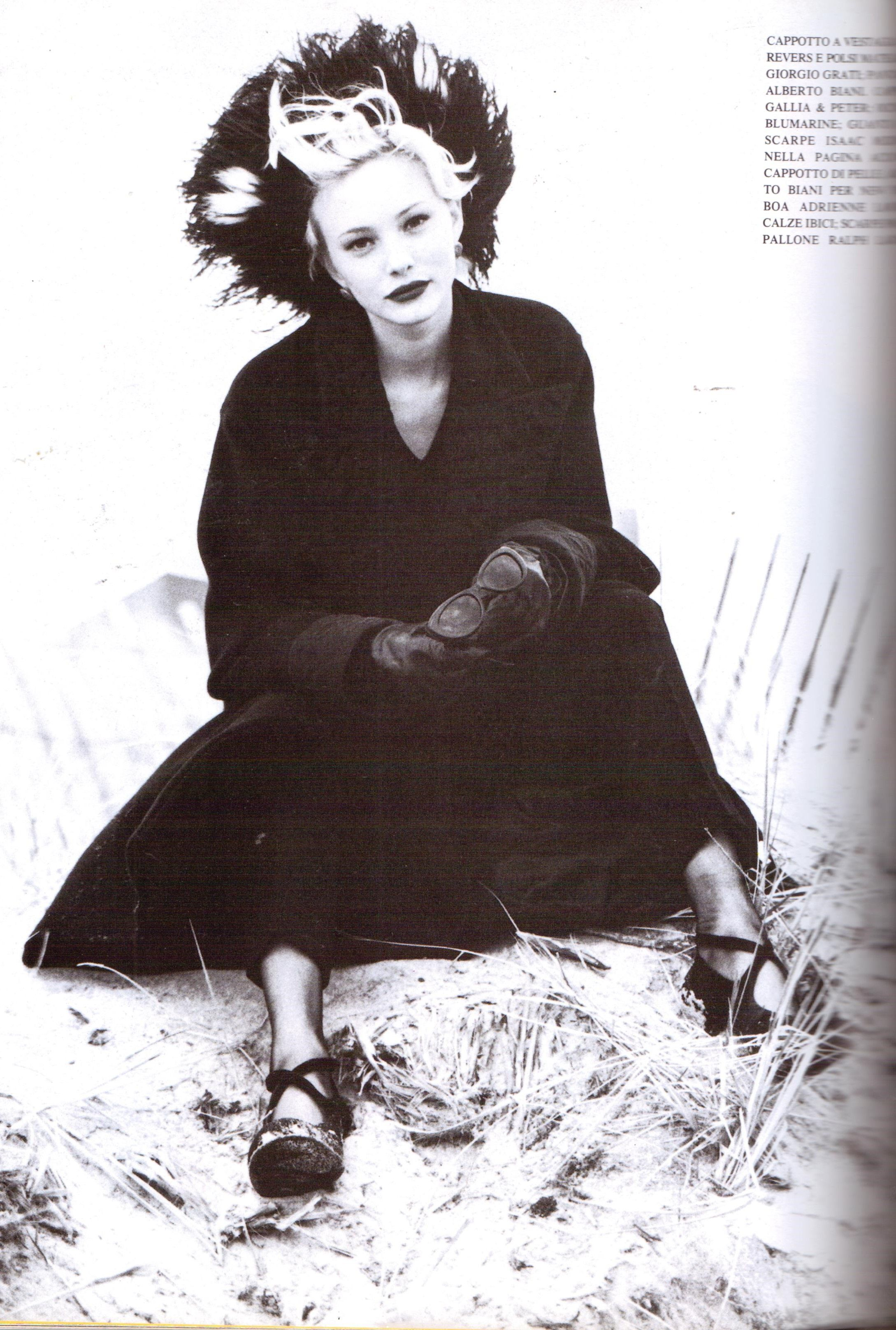 ☆ Jaime Rishar   Photography by Arthur Elgort   For Vogue Magazine Italy   August 1994 ☆
