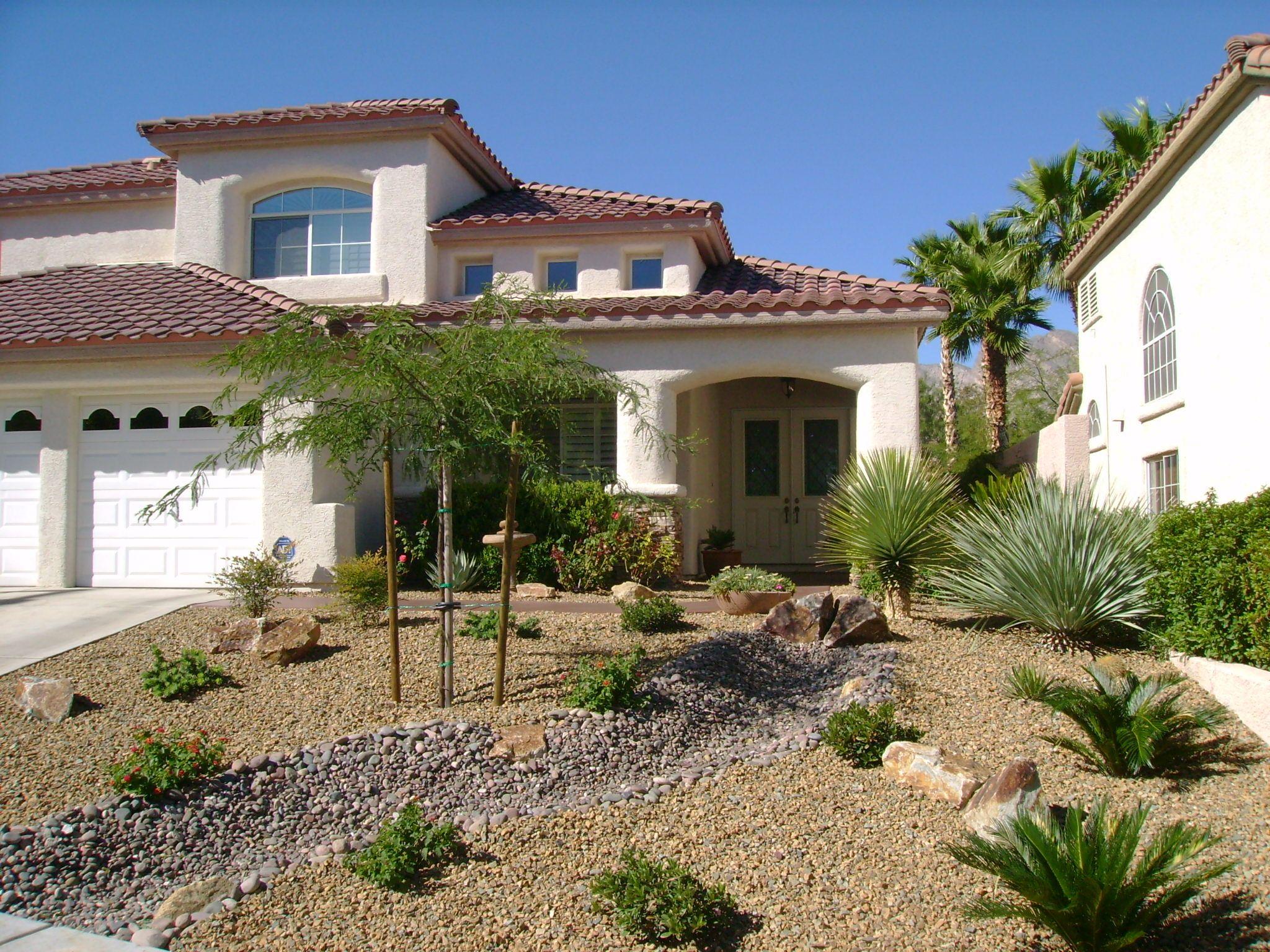 How To Make Desert Landscape Design Desert Landscaping Backyard