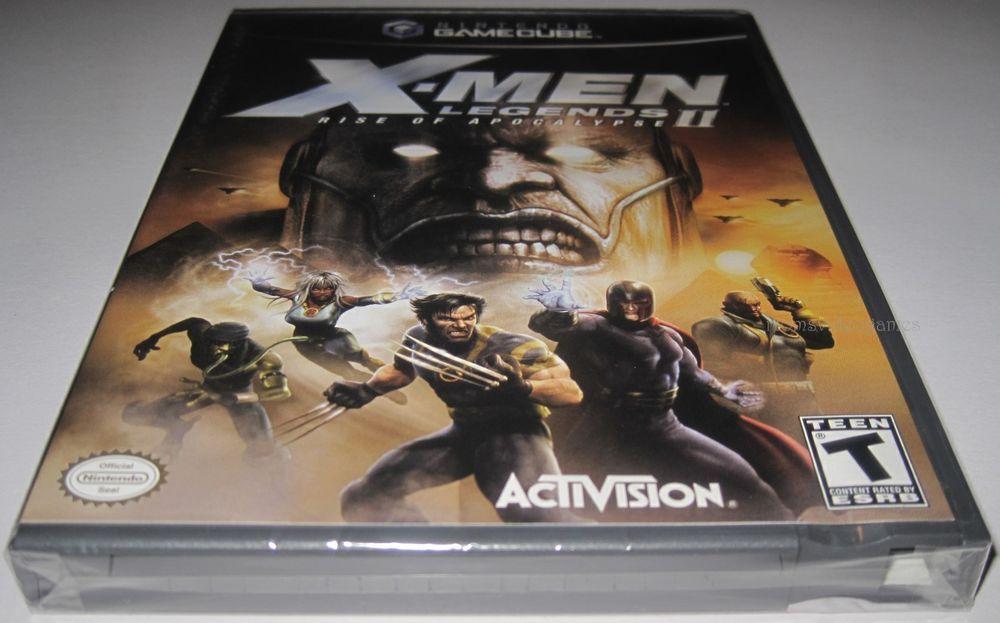 X Men Legends Ii Rise Of Apocalypse Nintendo Gamecube Brand New Gamecube X Men Apocalypse