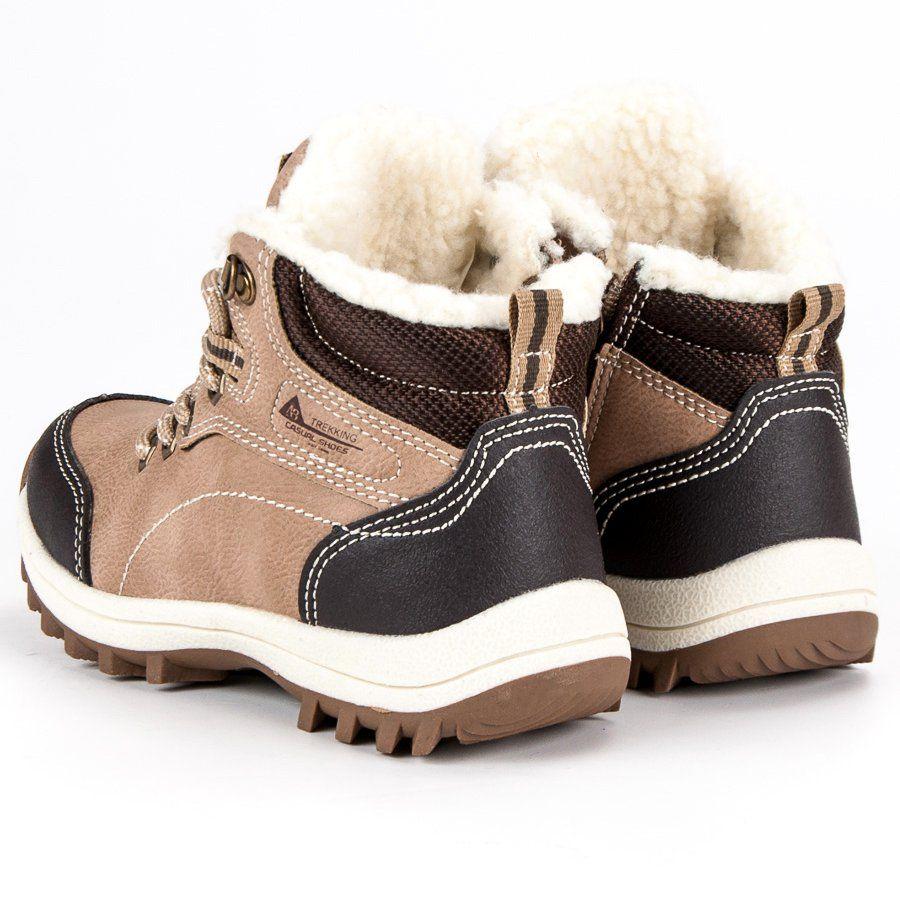 Kozaki Dla Dzieci Arrigobello Arrigo Bello Brazowe Chlopiece Buty Z Kozuszkiem Boots Wedge Sneaker Shoes