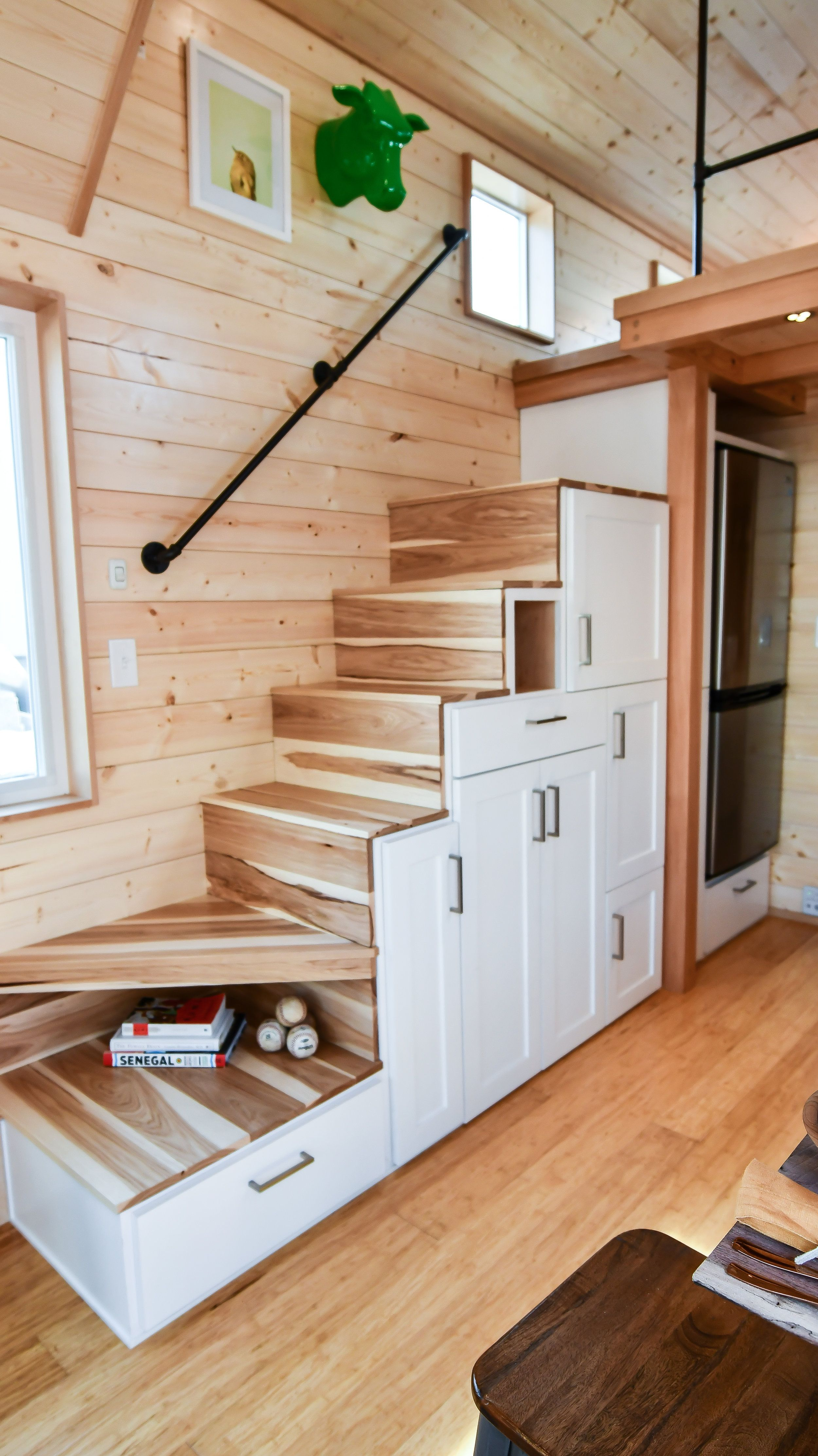 Pin By C Rawlings On Matchbox Living Tiny House Stairs Attic Renovation Attic Apartment