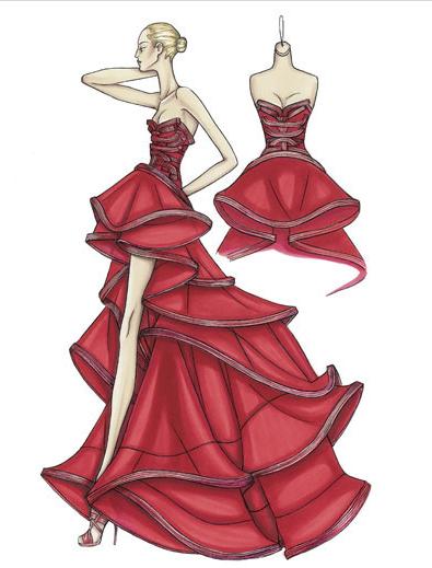 Versace red
