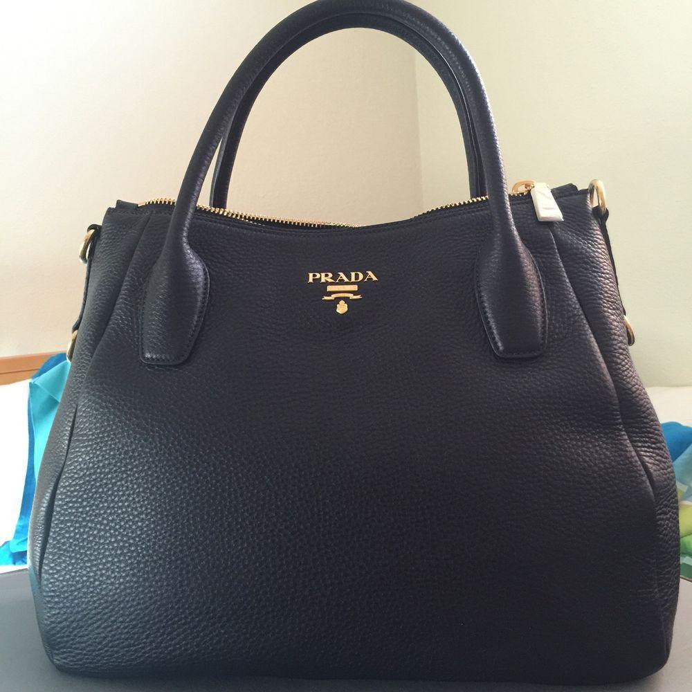 50e7ad55ce56 New Authentic Prada Bag Prada BR4992 Sacca 2 Manici Shopping Bag With Strap  #PRADA #ShoulderBag