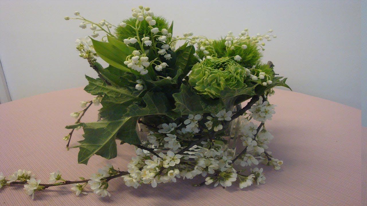 Blumendekoration zur Gartenparty Tischdekoration selber