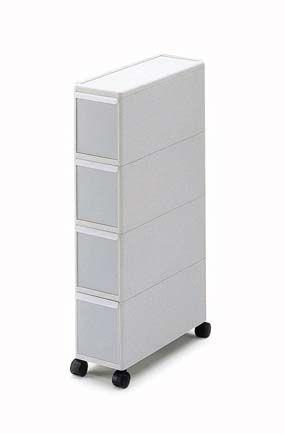 Narrow Plastic Storage Drawers Slim Storage Tall Stocker Jpg 285 434 Plastic Storage Drawers Storage Plastic Drawers