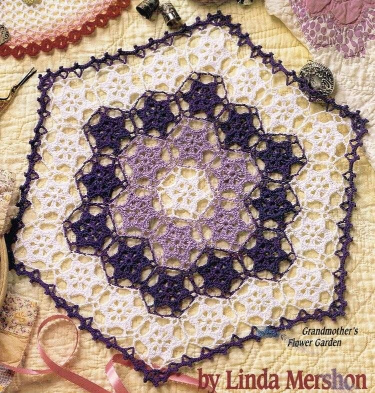 Heritage Doilies 6 Doily Patterns Crochet Pattern Book Instructions