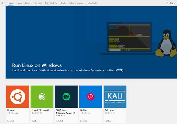 Windows Subsystem for Linux for testing Windows 10 PTP Client | News