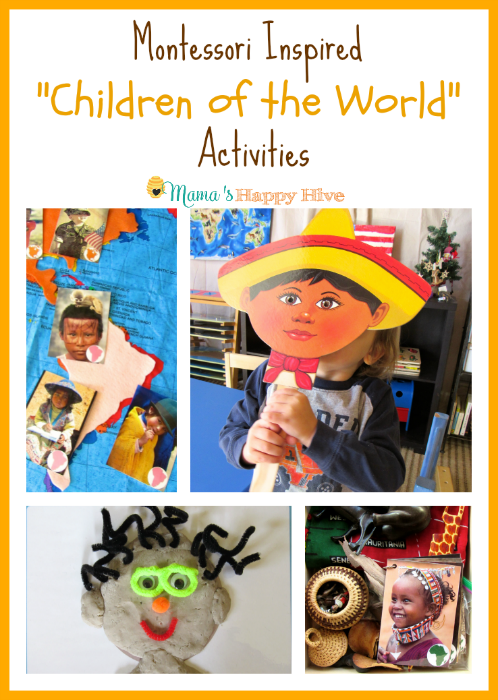 A Wonderful Cultural Collection Of Hands On Montessori Inspired