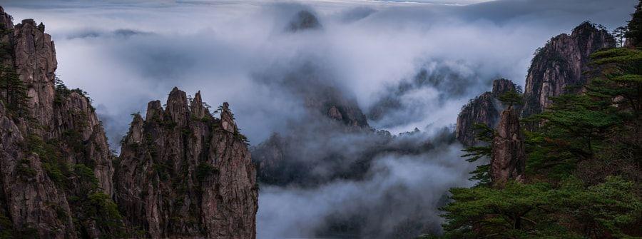 Mt. Huangshan by David Dai #xemtvhay