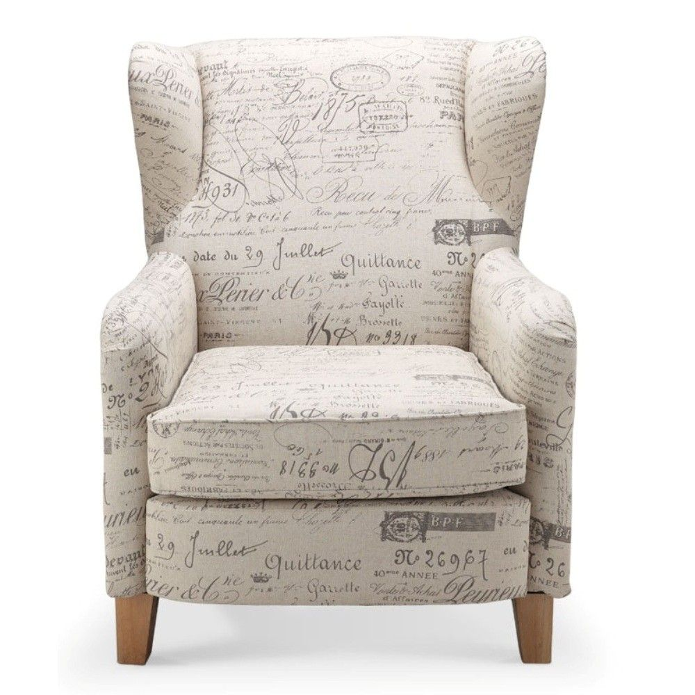 Chanel Occasional Chair Fabric French Writing
