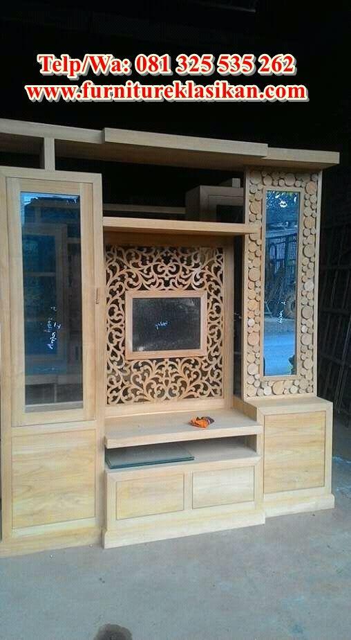 Desain Bufet Tv Partisi Minimalis Terbaru, Desainer Bufet ...