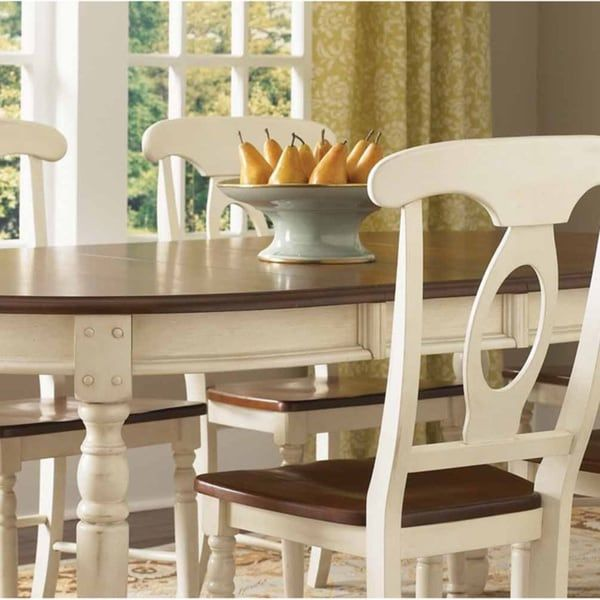 Simply Solid Samaria Wood 7 Piece Dining Collection Free Shipping Today