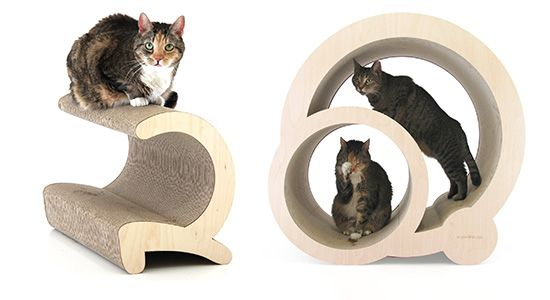 pretty design modern cat bed. Stunning Modern Cat Scratchers  Lounges Hideaways from Miglio Design