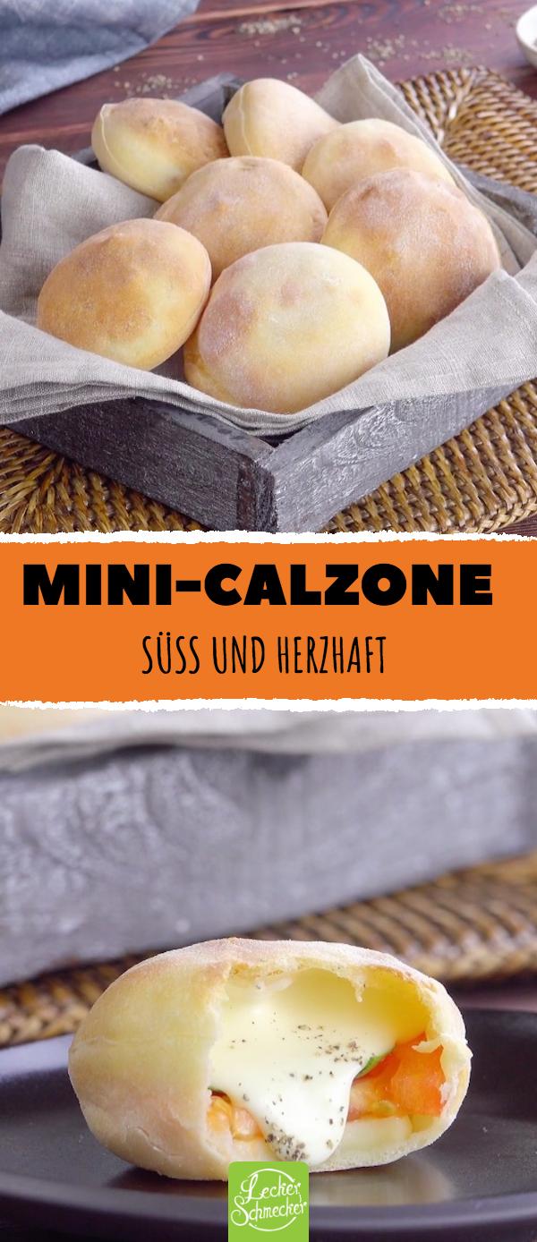 Mindestens Calzone Süßlich und herzhaft lecker rezept calzone fingerf