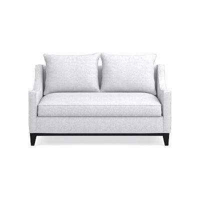 Fantastic Presidio Loveseat Standard Cushion Signature Velvet Cyan Machost Co Dining Chair Design Ideas Machostcouk