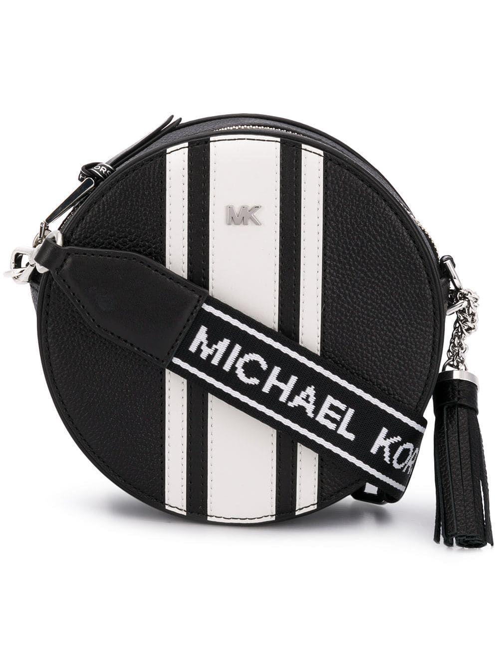 Michael Michael Kors Canteen Crossbody Bag In Black Modesens Crossbody Bag Bags Black Cross Body Bag