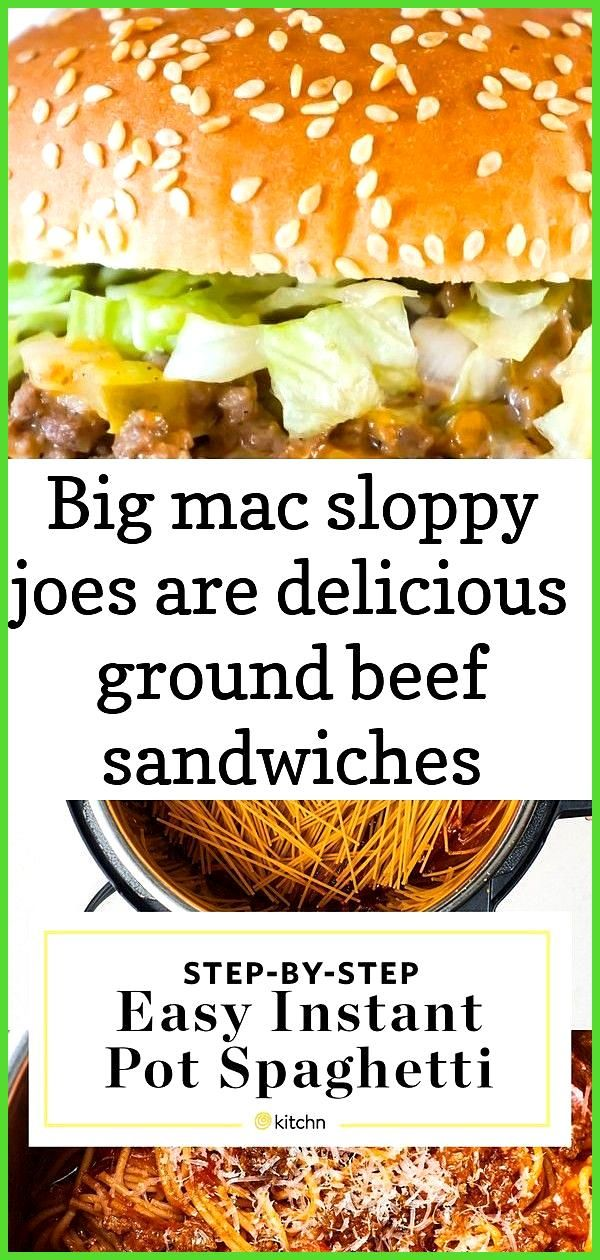 Big mac sloppy joes are delicious ground beef sandwiches loaded with onions pickles and cheese al 4