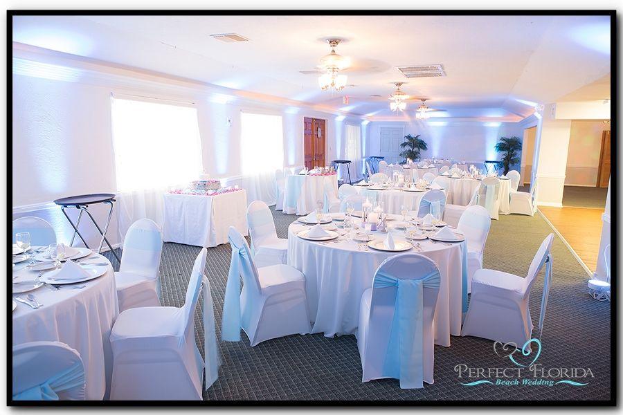 St Pete Beach Lions Club House Wedding
